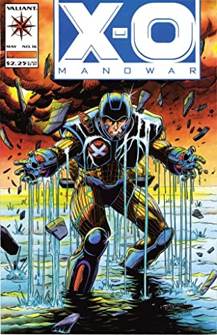 X-O Manowar (1992-1996) No.16