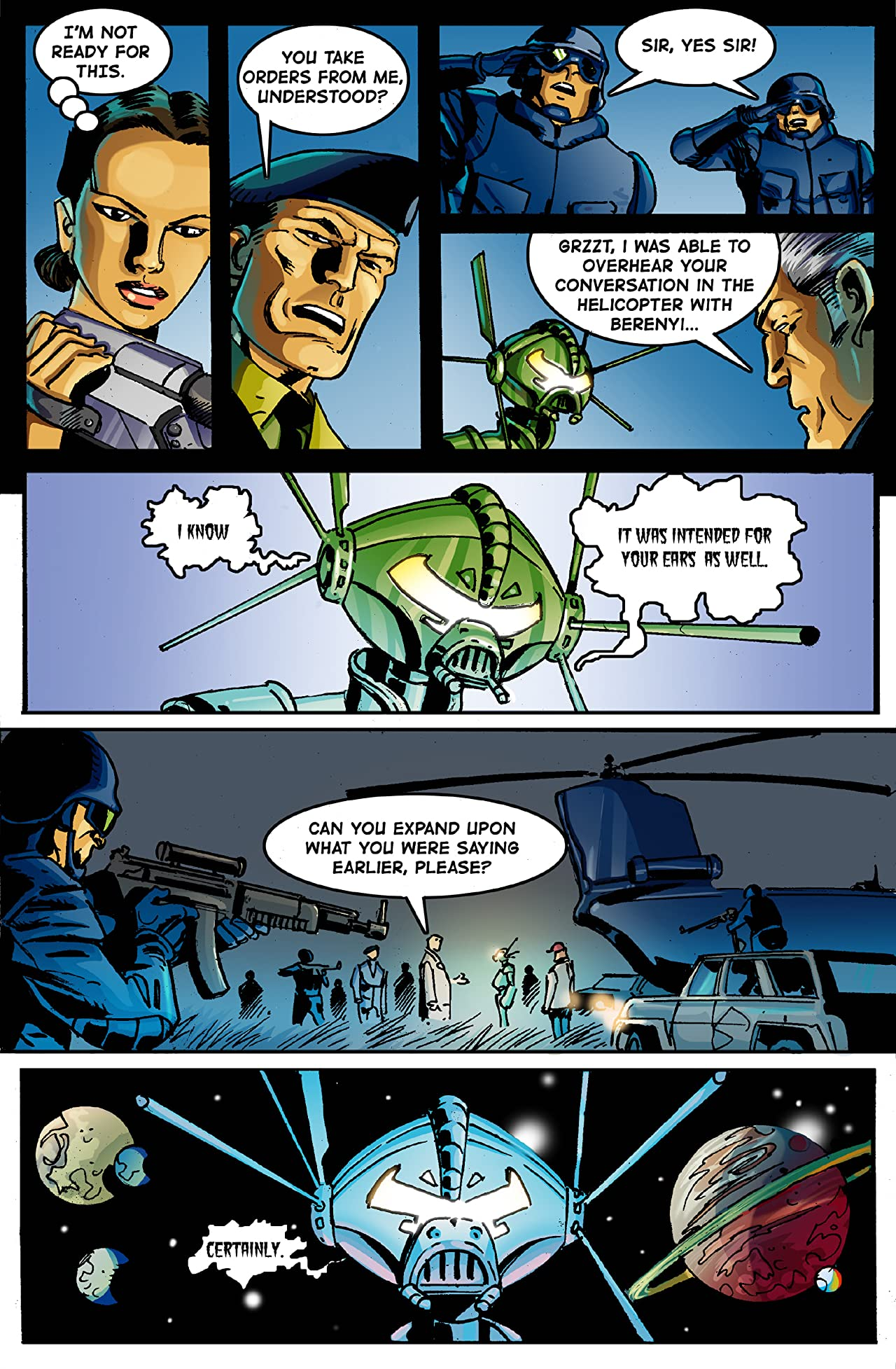 E.I. - Earth Invasion #6