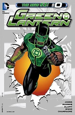 Green Lantern (2011-2016) #0
