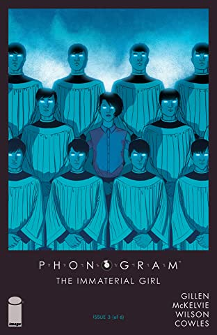 Phonogram: The Immaterial Girl No.3 (sur 6)