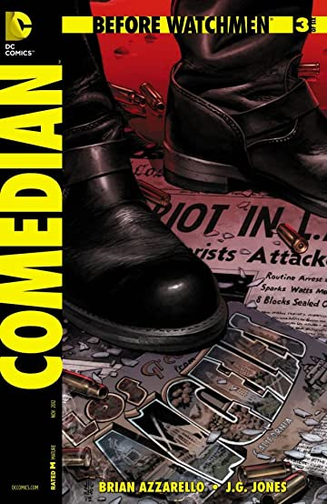 Before Watchmen: Comedian #3 (of 6)