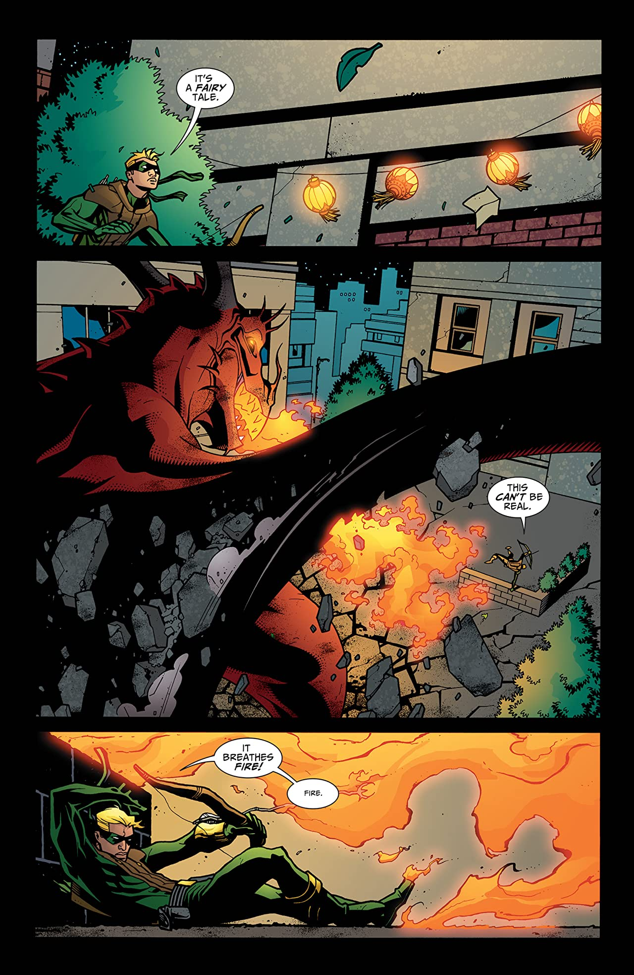 Connor Hawke: Dragon's Blood (2007) #5