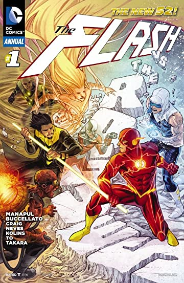 The Flash (2011-2016): Annual #1