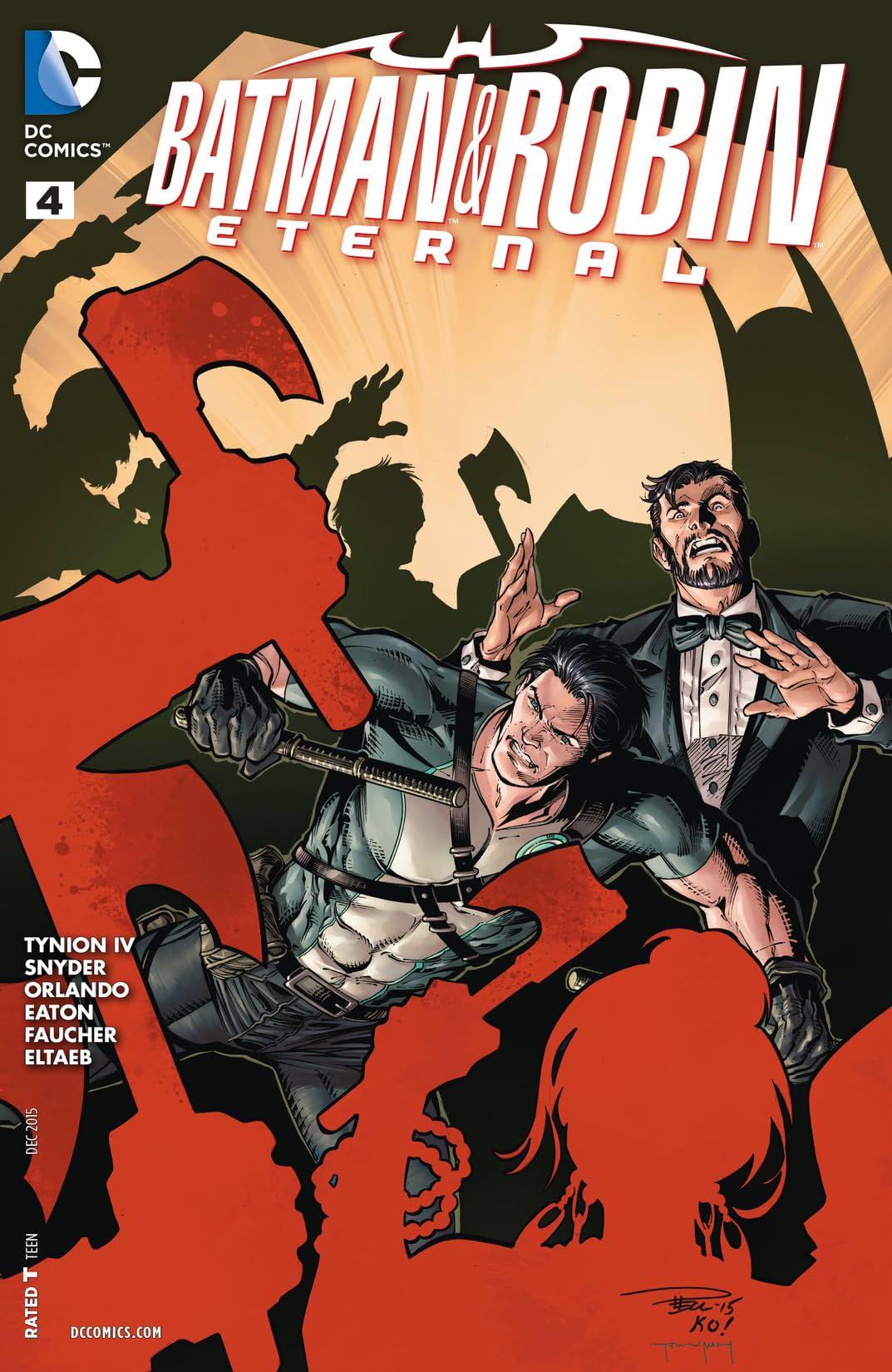 Batman & Robin Eternal (2015-2016) #4