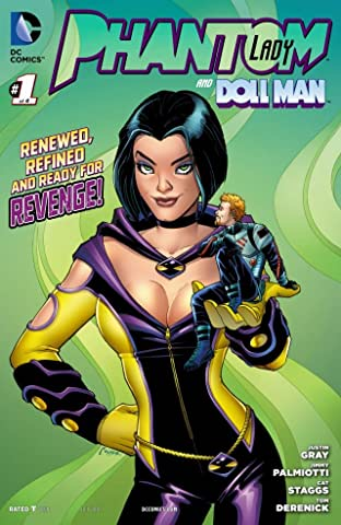 Phantom Lady (2012) #1 (of 4)