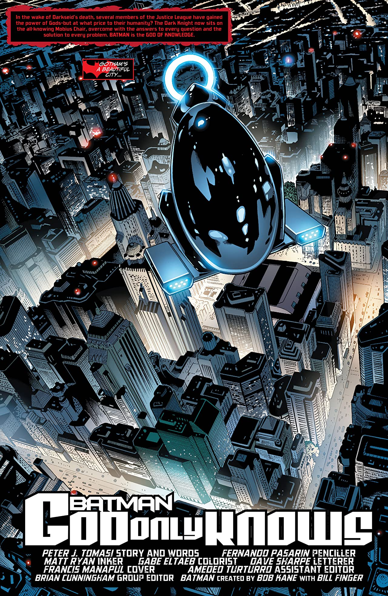 Justice League: The Darkseid War: Batman (2015) #1