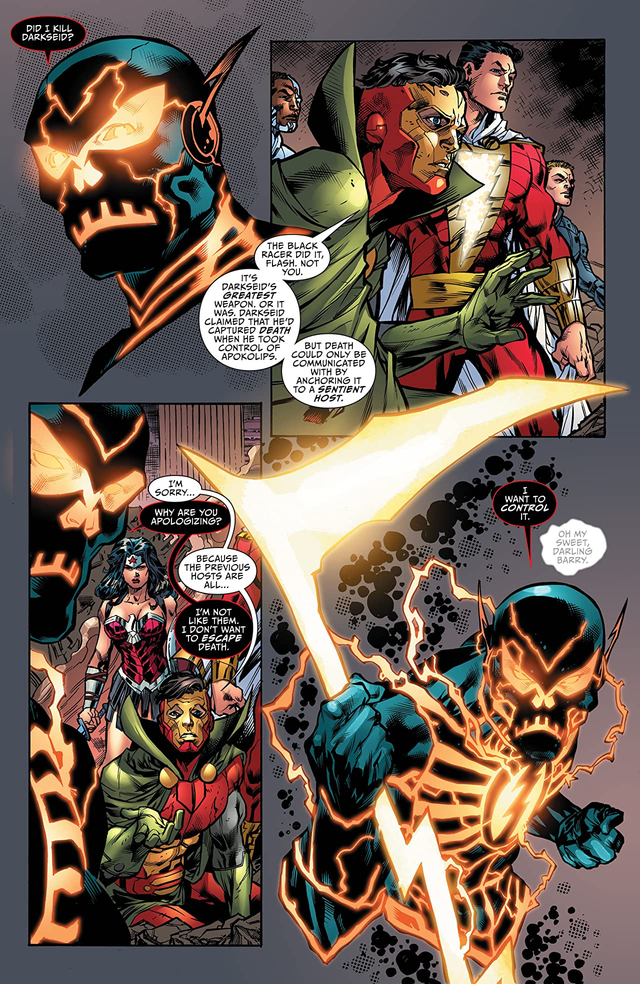 Justice League: The Darkseid War: The Flash (2015) #1
