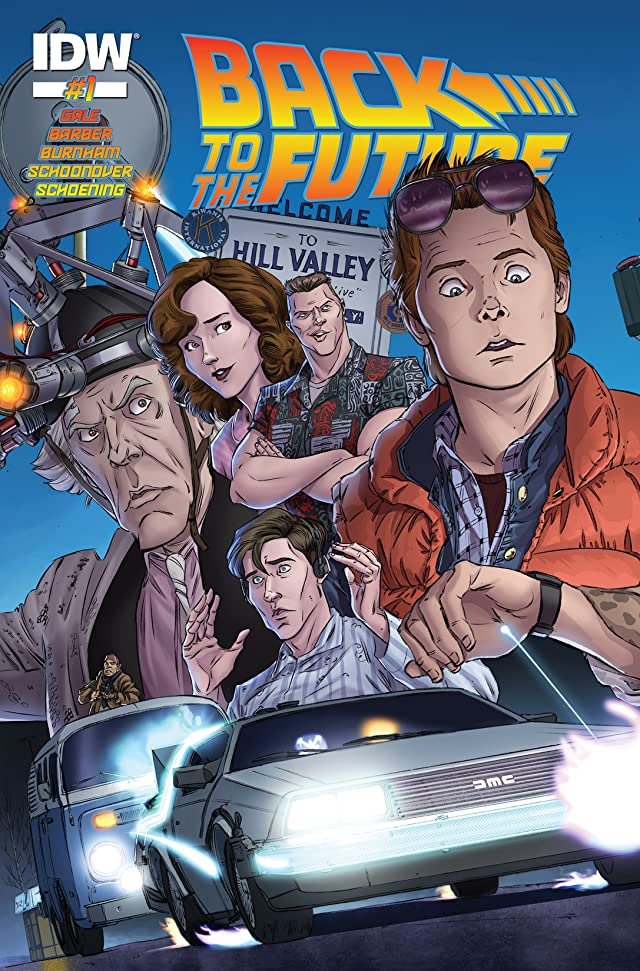 Back to the Future #1 (of 4)