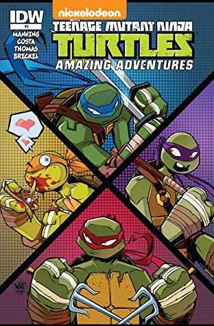 Teenage Mutant Ninja Turtles: Amazing Adventures No.3