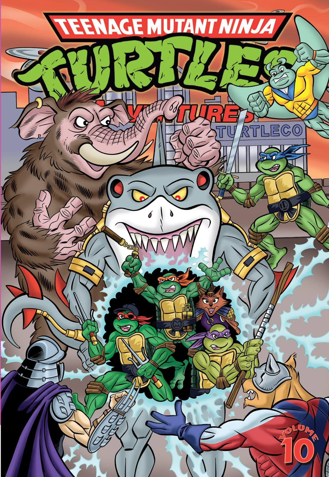 Teenage Mutant Ninja Turtles Adventures Vol  10 - Comics by comiXology