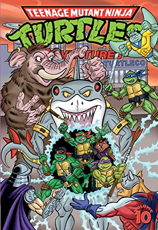 Teenage Mutant Ninja Turtles Adventures Tome 10
