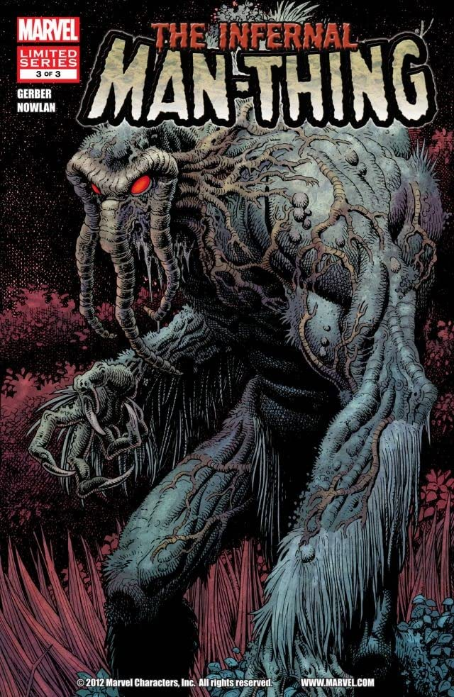 Infernal Man-Thing #3 (of 3)