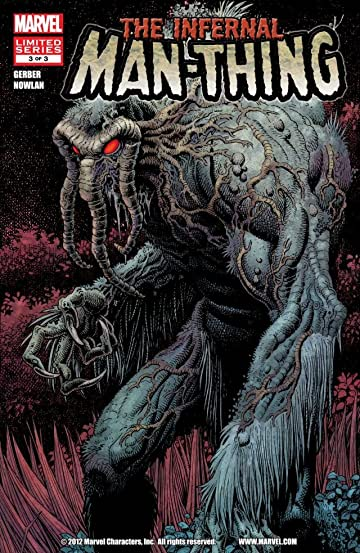 Infernal Man-Thing #3 (of 3)