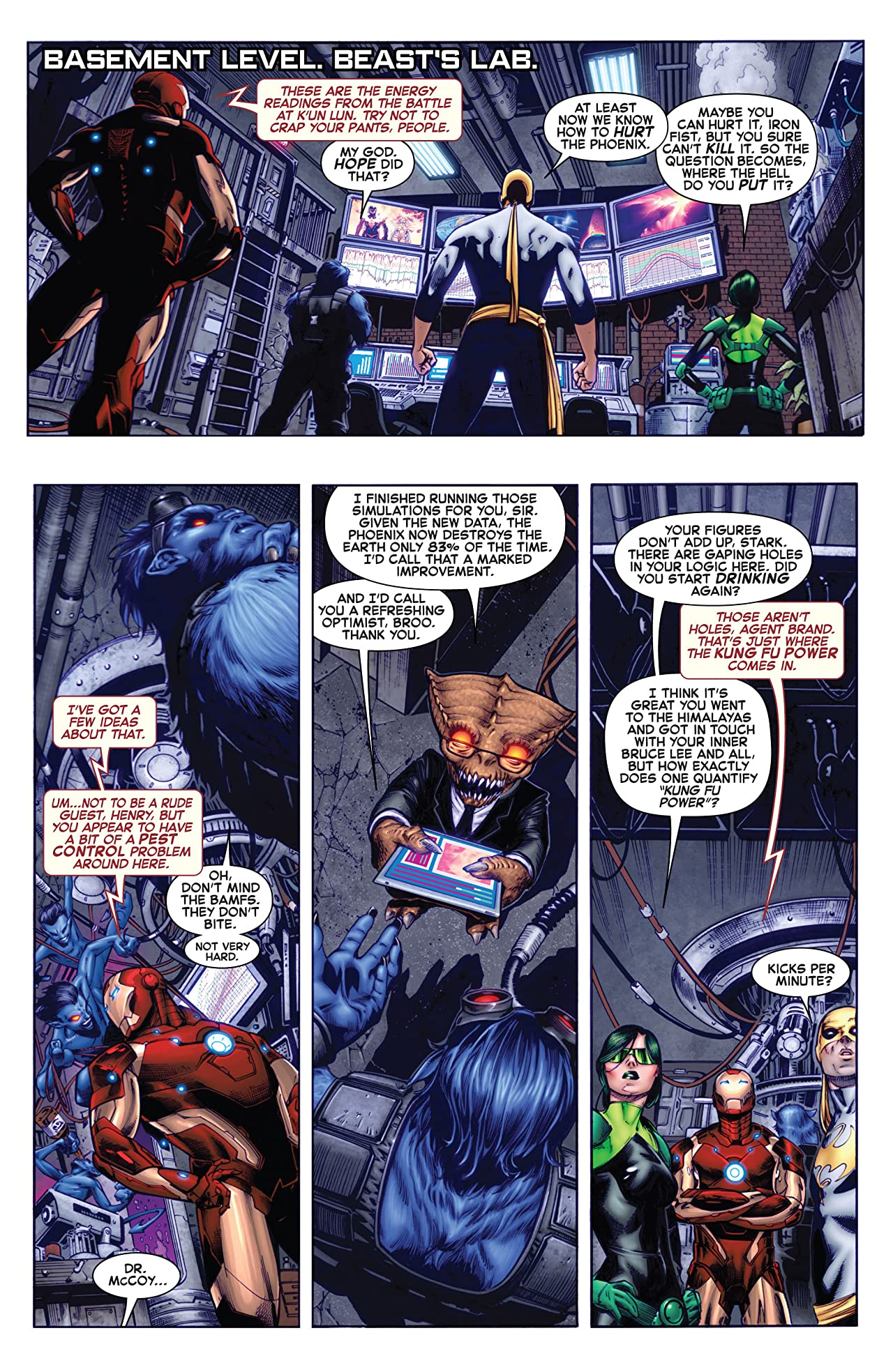 Wolverine and the X-Men #15