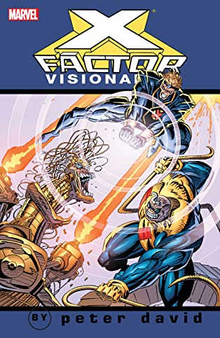 X-Factor Visionaries by Peter David Vol. 3