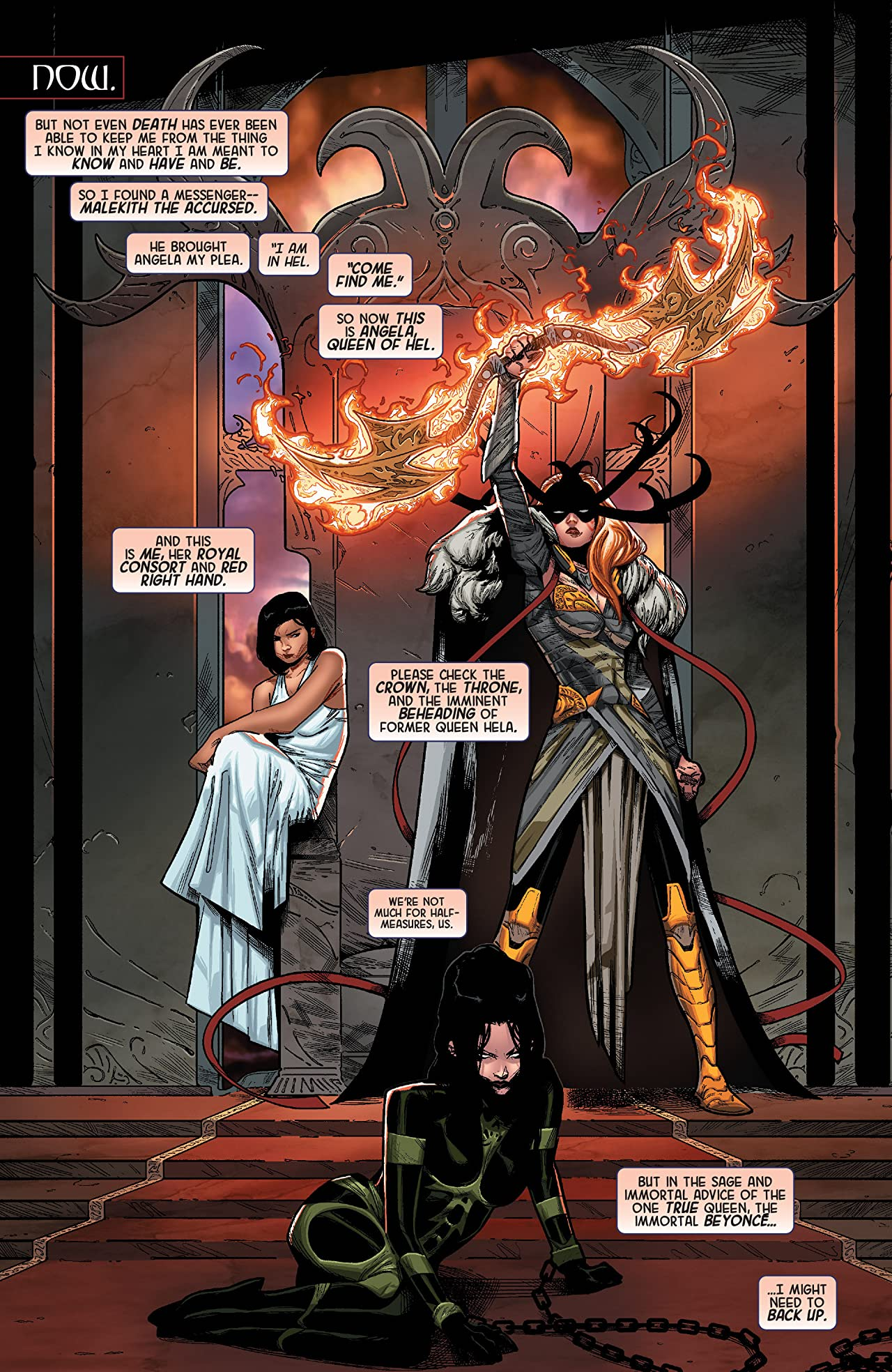 Angela: Queen of Hel (2015-2016) #1