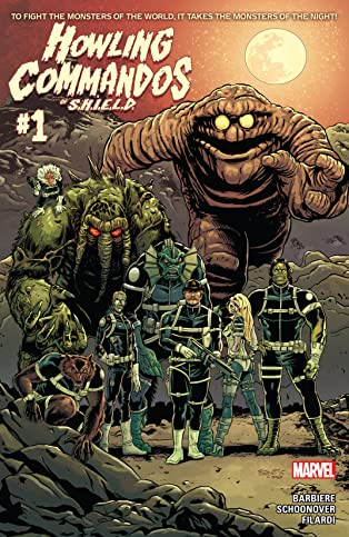 Howling Commandos of S.H.I.E.L.D. (2015-) #1
