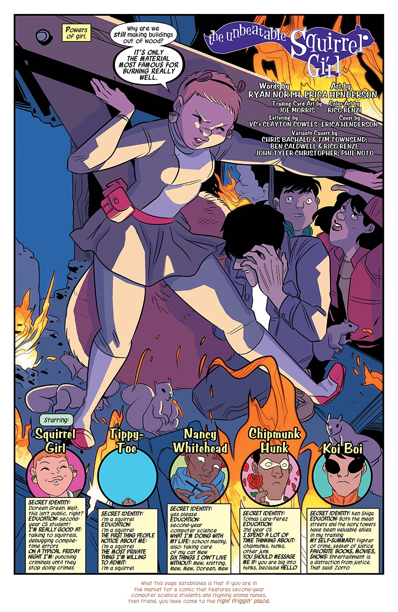 The Unbeatable Squirrel Girl (2015-) #1