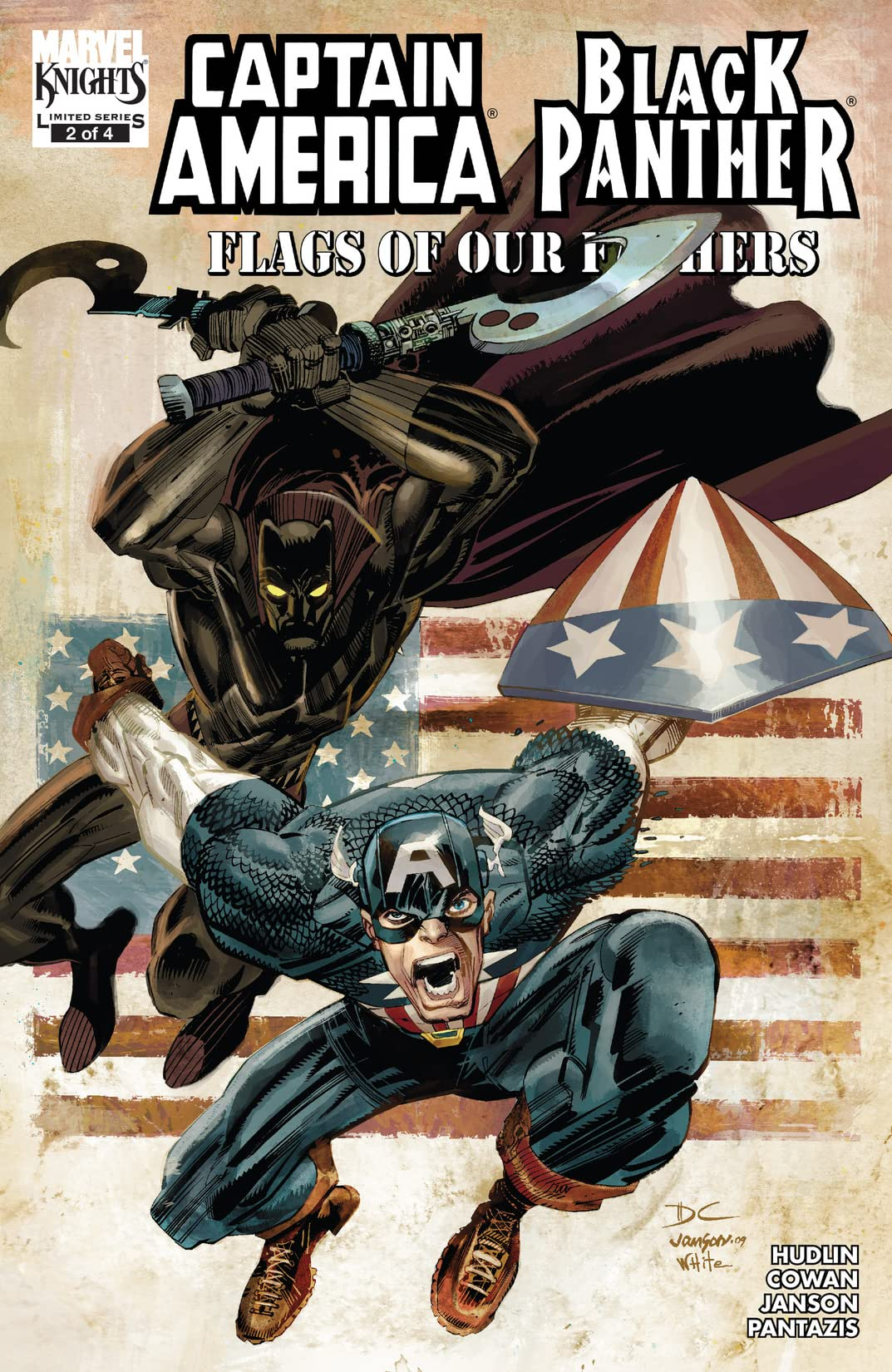 Captain America/Black Panther: Flags Of Our Fathers (2010) #2 (of 4)
