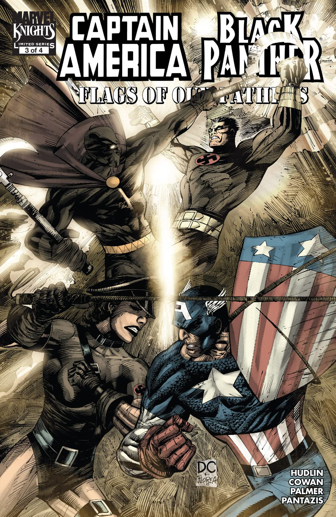Captain America/Black Panther: Flags Of Our Fathers (2010) #3 (of 4)