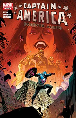 Captain America: Forever Allies (2010) No.4 (sur 4)