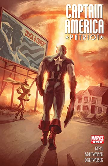 Captain America: Patriot (2010) #4 (of 4)