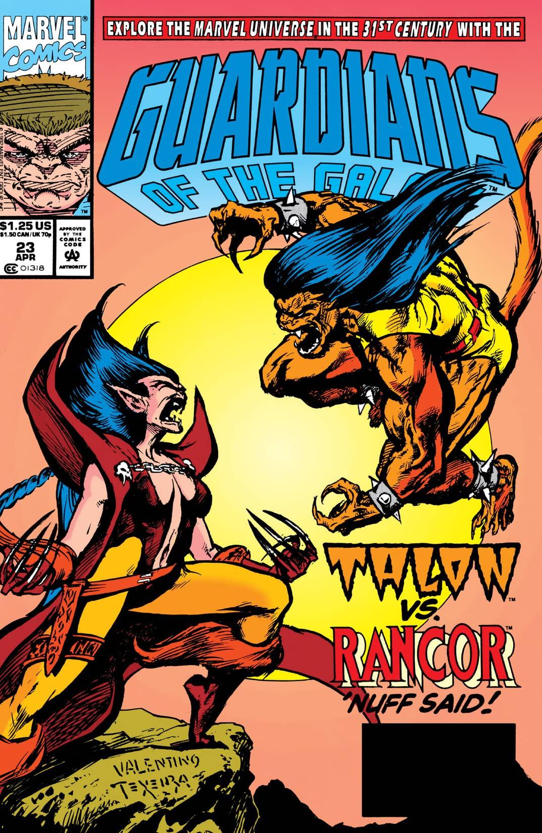Guardians of the Galaxy (1990-1995) #23