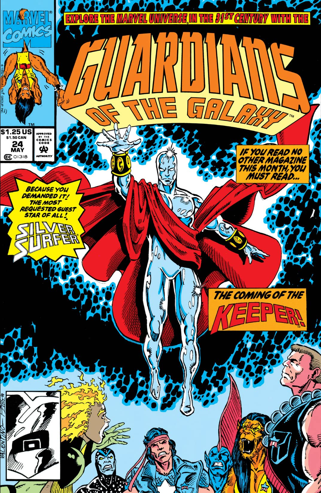 Guardians of the Galaxy (1990-1995) #24