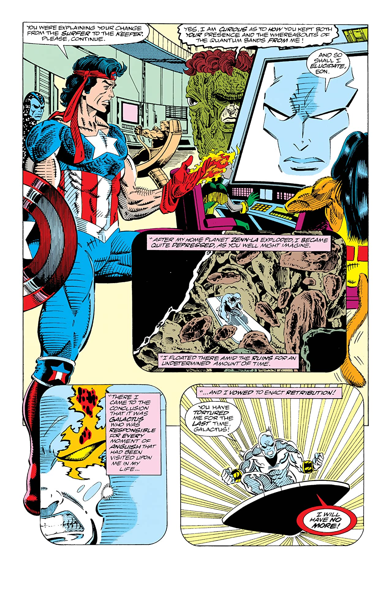 Guardians of the Galaxy (1990-1995) #25