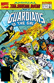Guardians of the Galaxy (1990-1995) Annual #2