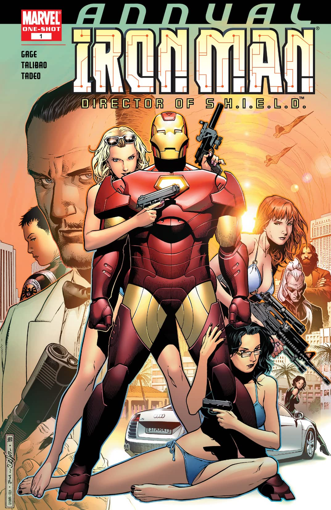 Iron Man: Director of S H I E L D  Annual #1 - Comics by comiXology