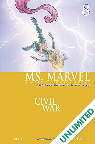 Ms. Marvel (2006-2010) #8