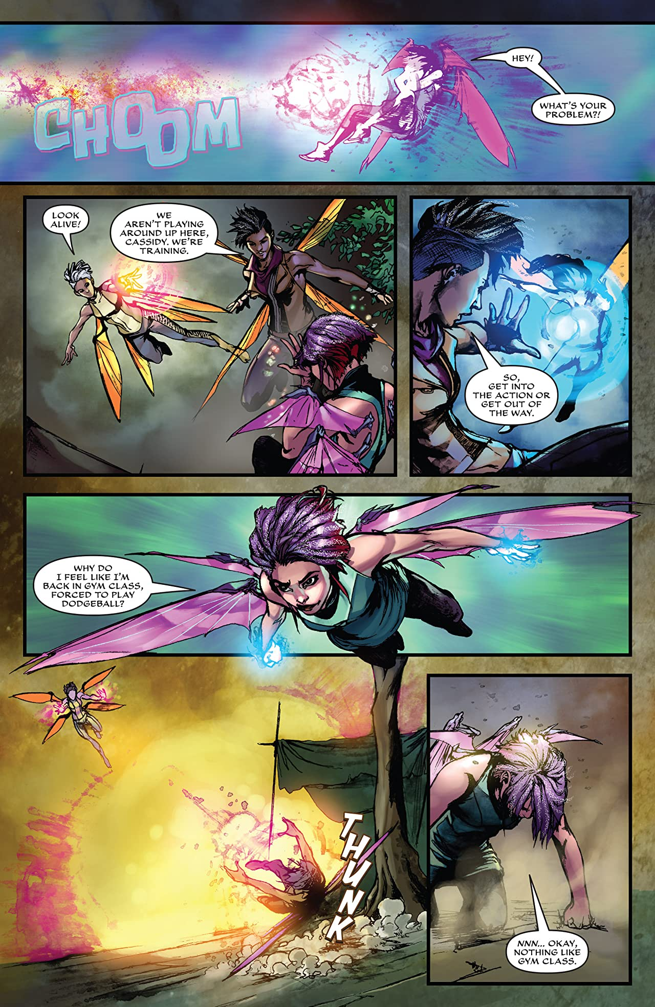 Eternal Soulfire #4 (of 6)
