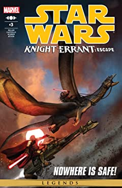 Star Wars: Knight Errant - Escape (2012) #3 (of 5)
