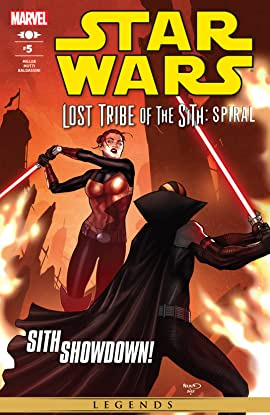 Star Wars: Lost Tribe of the Sith - Spiral (2012) #5 (of 5)