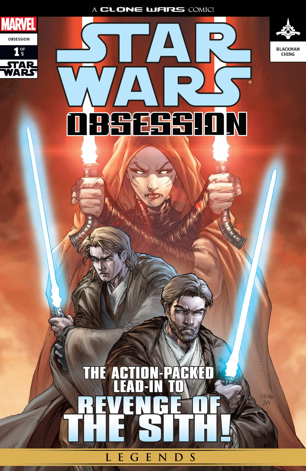 Star Wars: Obsession (2004-2005) #1 (of 5)