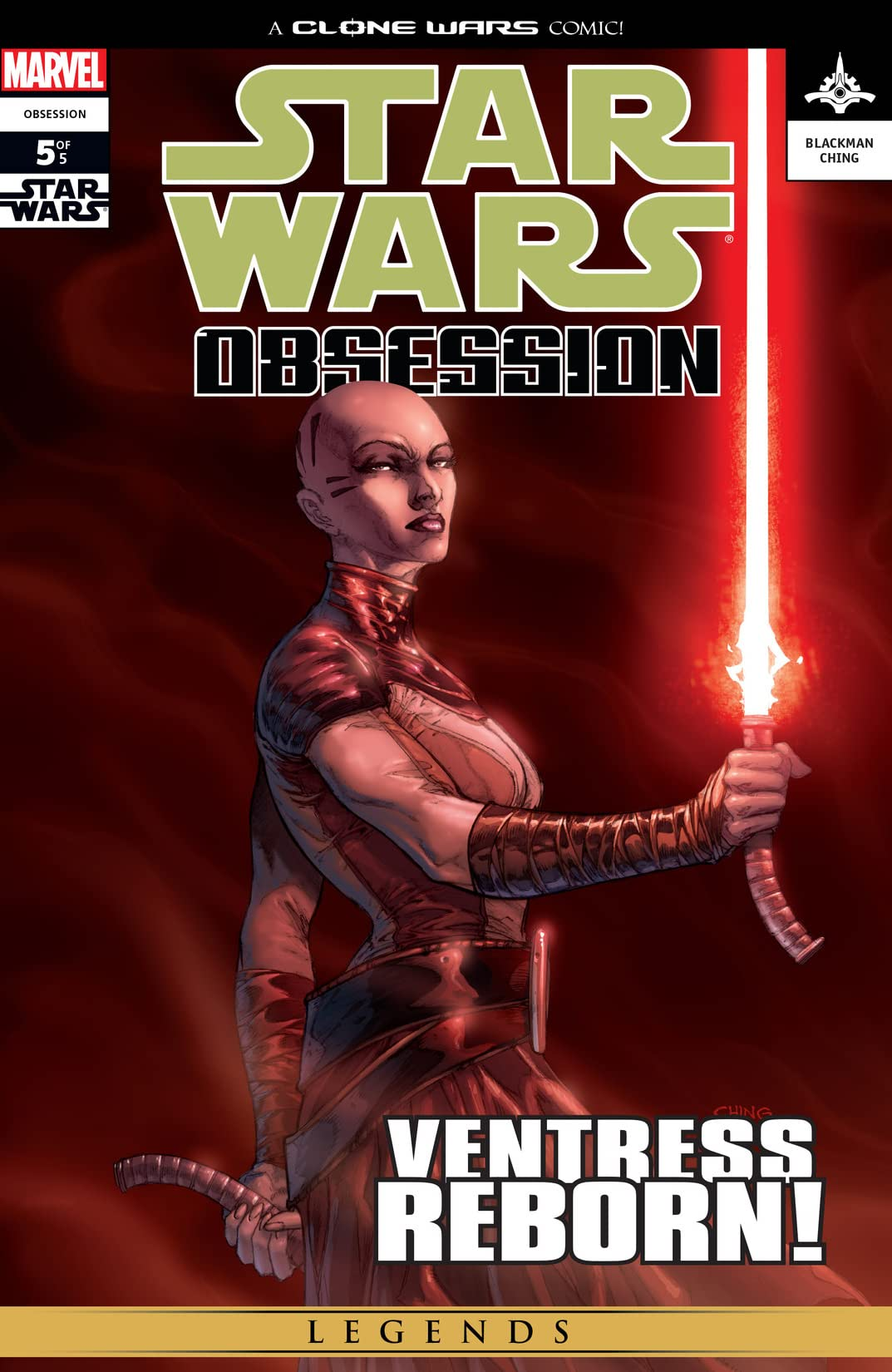Star Wars: Obsession (2004-2005) #5 (of 5)