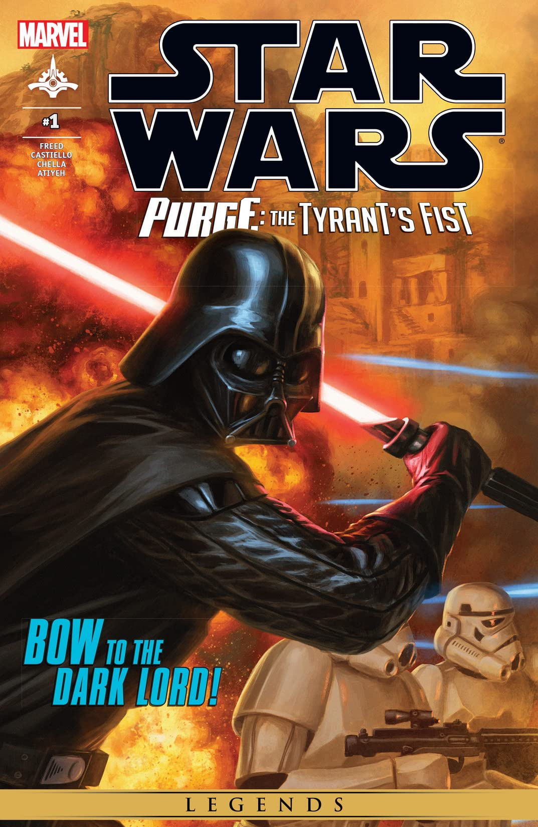 Star Wars: Purge - The Tyrant's Fist (2012-2013) #1 (of 2)