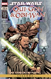 Star Wars: Qui-Gon & Obi-Wan - Last Stand On Ord Mantell (2000-2001) #1 (of 3)