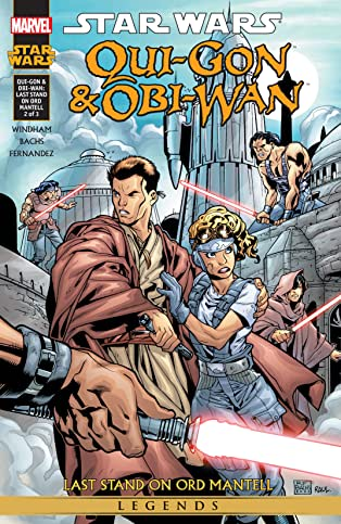 Star Wars: Qui-Gon & Obi-Wan - Last Stand On Ord Mantell (2000-2001) #2 (of 3)