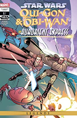 Star Wars: Qui-Gon & Obi-Wan - The Aurorient Express (2002) #1 (of 2)