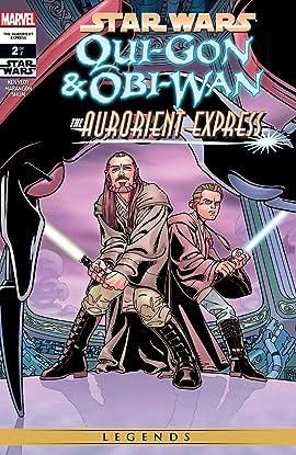 Star Wars: Qui-Gon & Obi-Wan - The Aurorient Express (2002) #2 (of 2)
