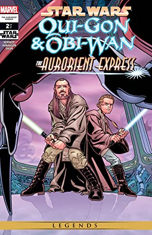 Star Wars: Qui-Gon & Obi-Wan - The Aurorient Express (2002) #2 (of 2)