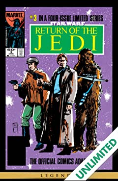 Star Wars: Return of the Jedi (1983-1984) #3 (of 4)