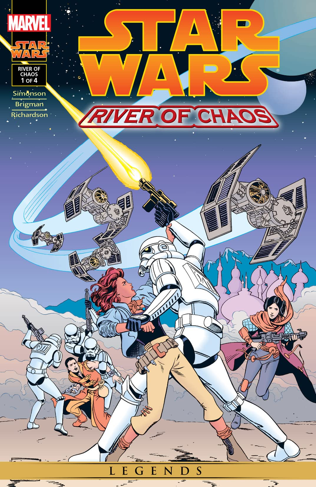 Star Wars: River of Chaos (1995) #1 (of 4)