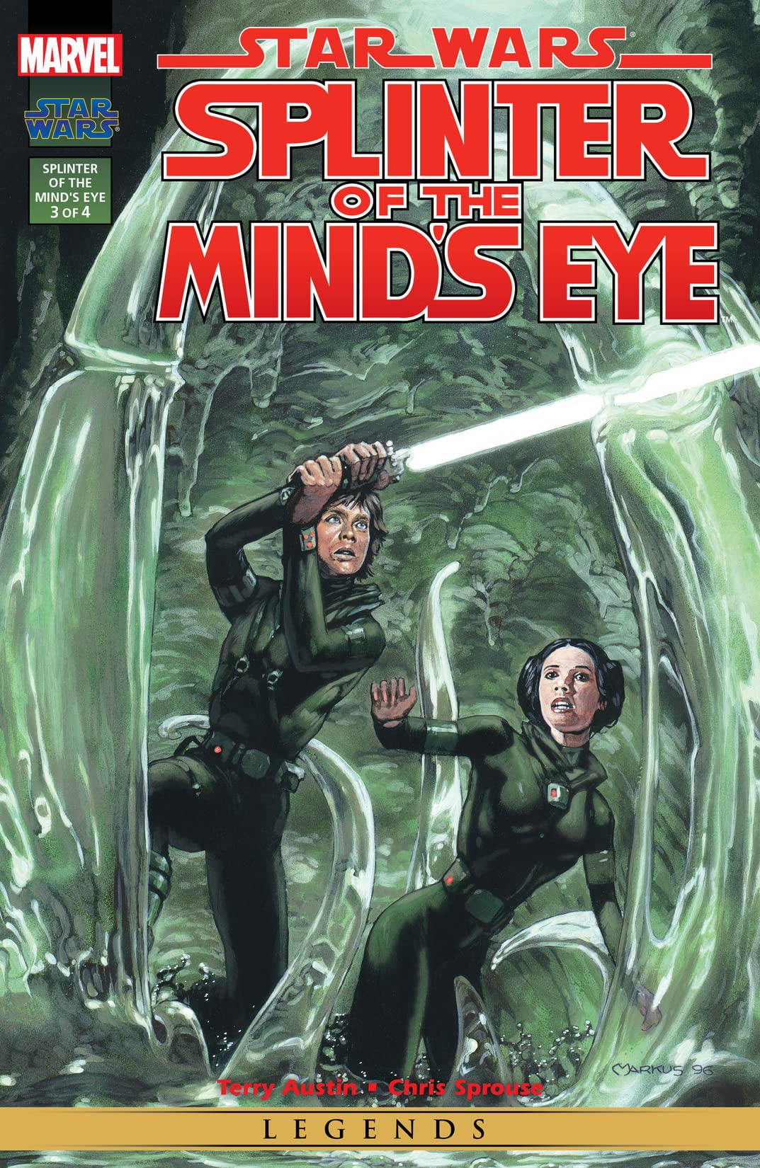 Star Wars: Splinter of the Mind's Eye (1995-1996) #3 (of 4)