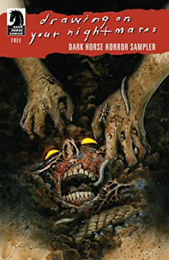 Dark Horse Horror Sampler 2015 No.0