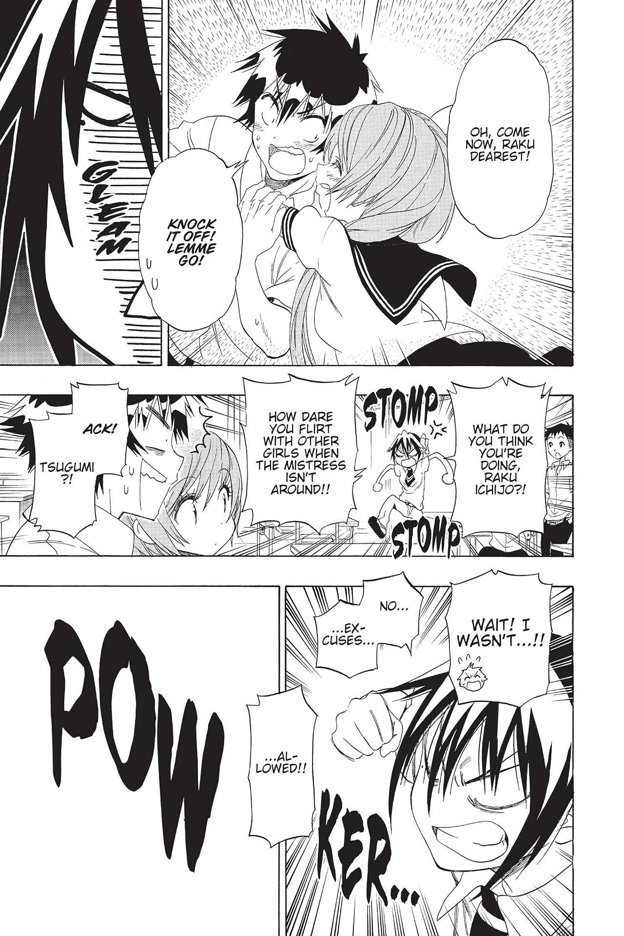 Nisekoi: False Love Vol. 12