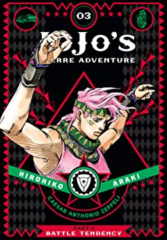 JoJo's Bizarre Adventure: Part 2--Battle Tendency Vol. 3