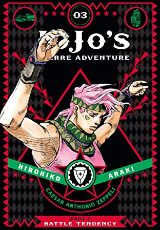 JoJo's Bizarre Adventure: Part 2--Battle Tendency Vol. 3